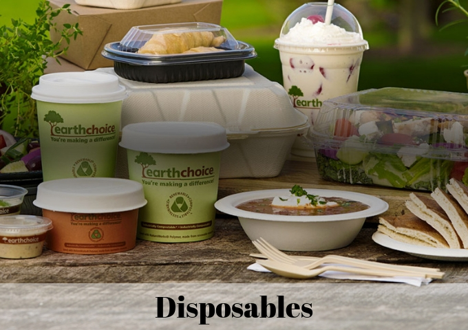 Disposables | WhiteStone Kitchen Supply Inc.